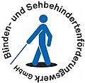 [Translate to English:] Logo Blinden- und Sehbehindertenförderungswerk